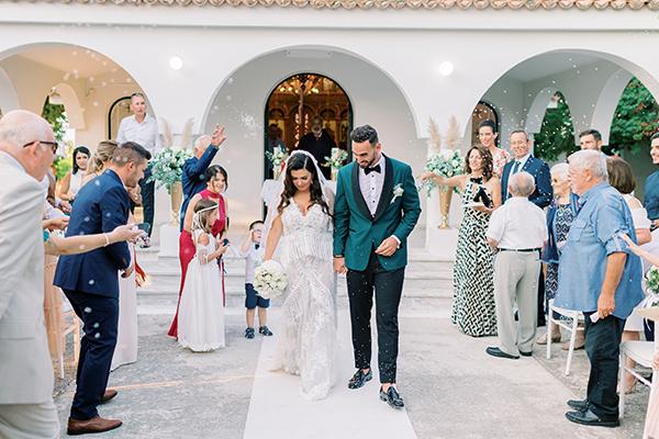 Ένας υπέροχος καλοκαιρινός γάμος με μποέμ λεπτομέρειες │ Έλλη & Σπύρος