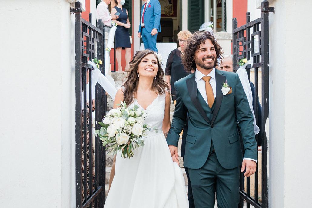 Πολιτικός καλοκαιρινός γάμος στην Κεφαλονιά με έντονο το ρομαντικό στοιχείο │ Εμμανουέλα & Γεράσιμος