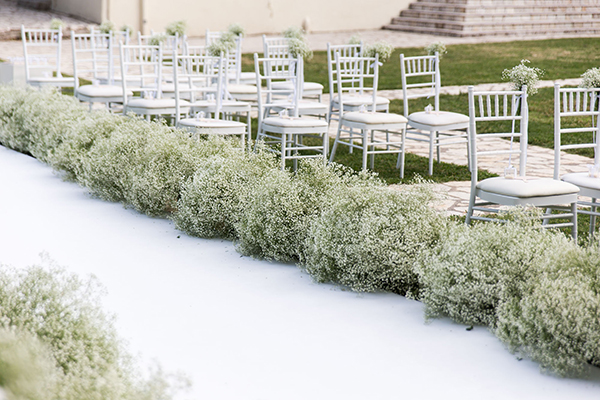 Εντυπωσίασε τους καλεσμένους σου με μια φαντασμαγορική διακόσμηση με άνθη από ορτανσίες, ορχιδέες και γυψοφίλη