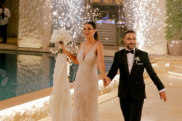 Luxurious καλοκαιρινός γάμος στην Αθήνα σε παστέλ – dusty pink αποχρώσεις │Δήμητρα & Γιάννης