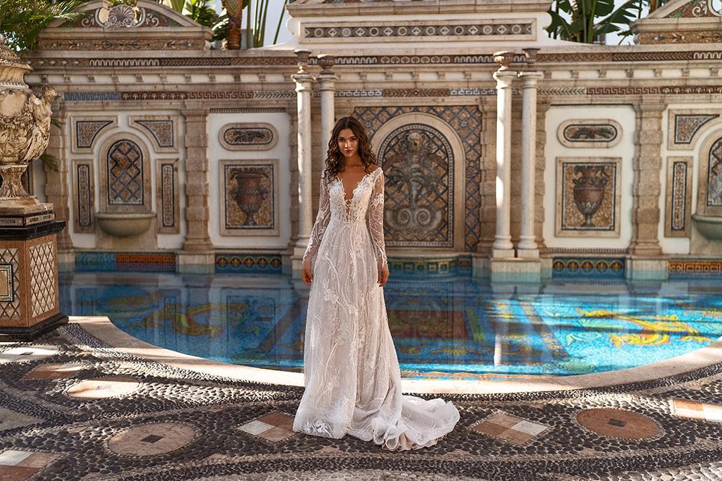 Καθηλωτικά νυφικά φορέματα από Aria Bride για μια εντυπωσιακή νυφική εμφάνιση